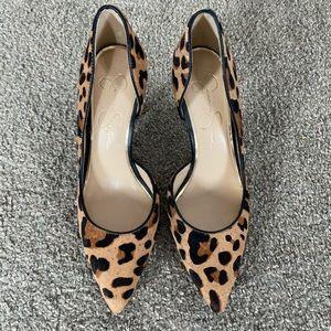 Jessica Simpson Leopard Print Heels